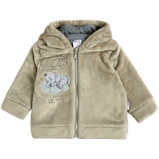 Куртка демисезонная утеплённая 105568-25 светло-серая