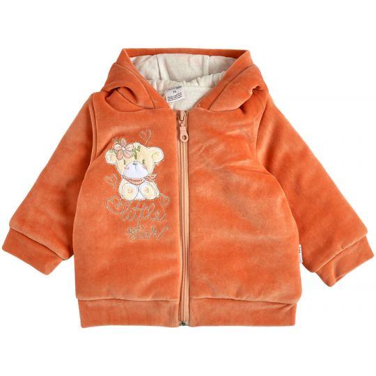 Куртка демисезонная утеплённая 105576-01 терракотовая