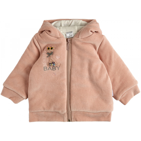 Куртка демисезонная утеплённая 105564-01 пудра