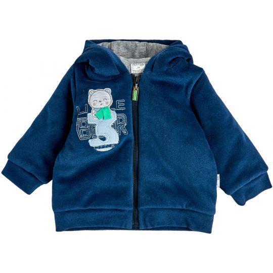 Куртка демисезонная утеплённая 105565-01 индиго