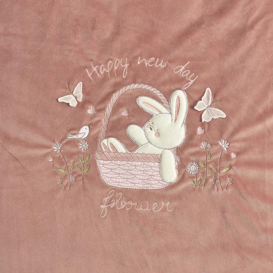 Плед одеяло утеплённый 106076-01-32 бежевый велюр