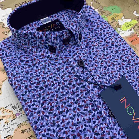 Рубашка школьная для мальчика 12-51-30