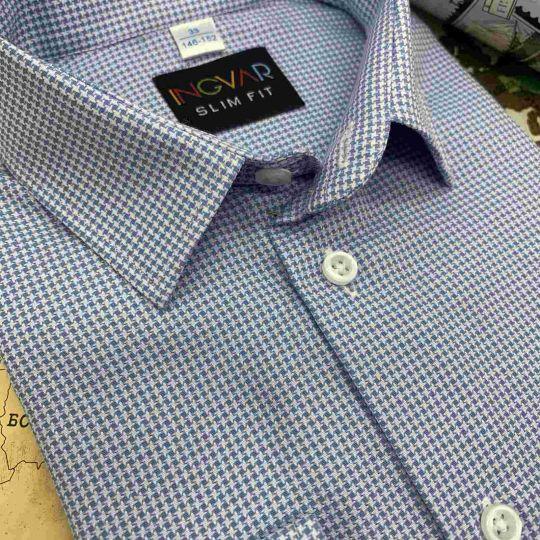 Рубашка школьная для мальчика 12-51-32