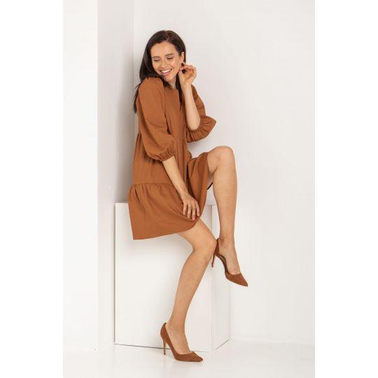 Платье Луар 5621 кемел