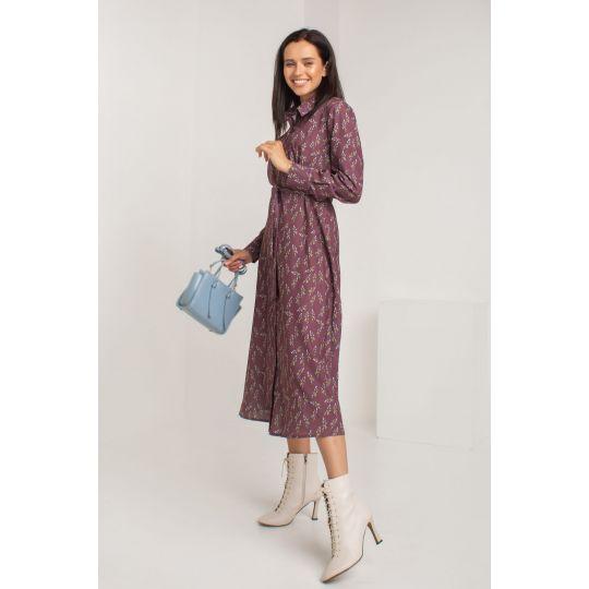 Платье Рипассо 5579 лиловое