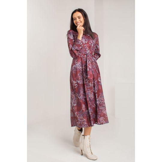 Платье Рипассо 5577 вишневое