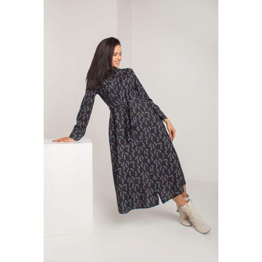 Платье Рипассо 5580 черное