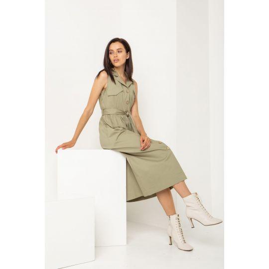 Платье Антарес 5491 оливка