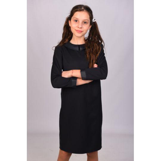 Платье школьное 38 черное