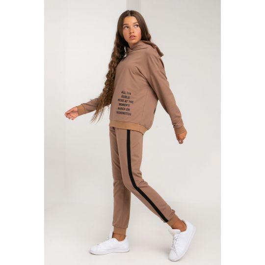 Спортивный костюм Ленотти 5648 шоколадный