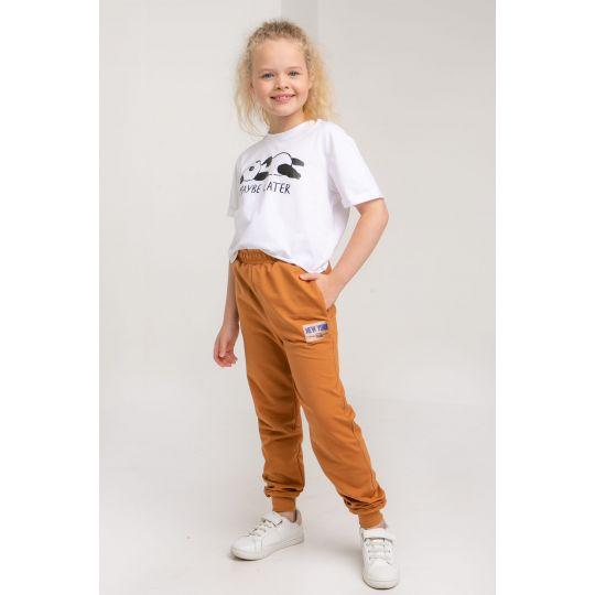Спортивные штаны Дарли 5738 карамельные