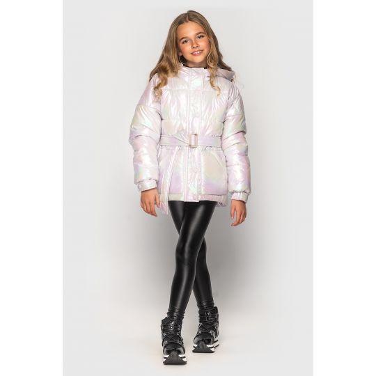 Куртка демисезонная для девочки Дея сирень