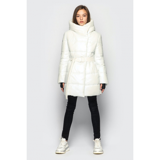Куртка демисезонная для девочки Кэти белая