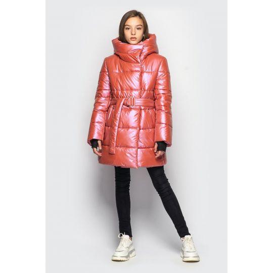 Куртка демисезонная для девочки Кэти оранжевый