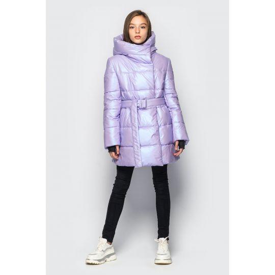 Куртка демисезонная для девочки Кэти сирень