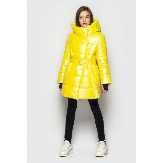 Куртка демисезонная для девочки Кэти желтое