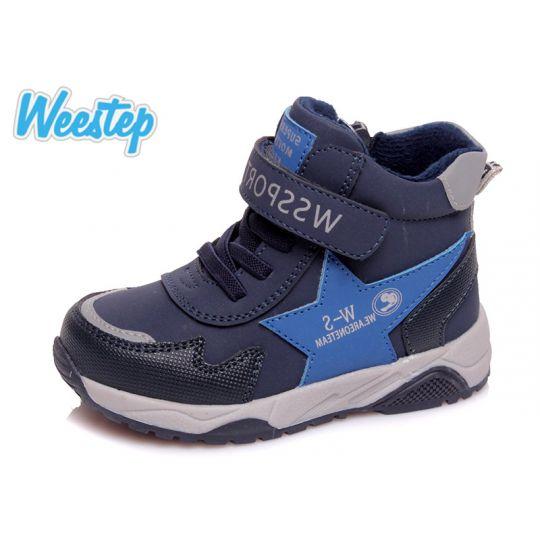 Ботинки 275855017 синие
