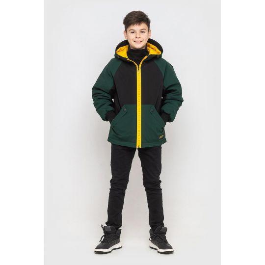 Куртка Спорт Поло зеленая