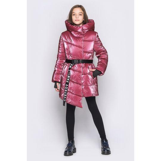 Куртка Кэсси пурпурно розовая