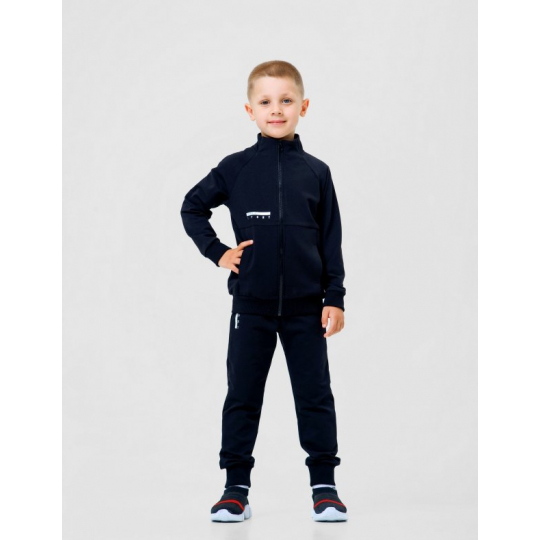 Спортиный костюм (куртка+брюки) 117232/117231 черный