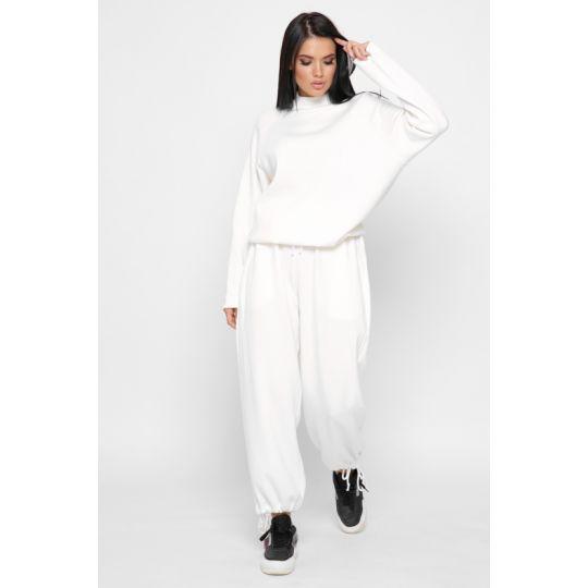 Спортивный костюм KM-2155-3 белый