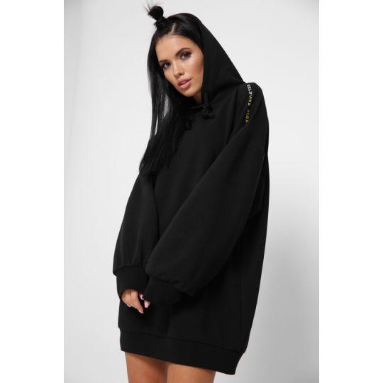 Платье KP-10352-8 черное