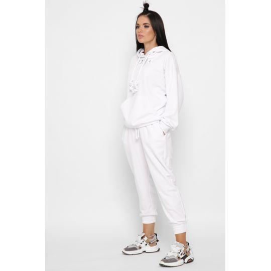 Спортивный костюм KM-2151-3 белый