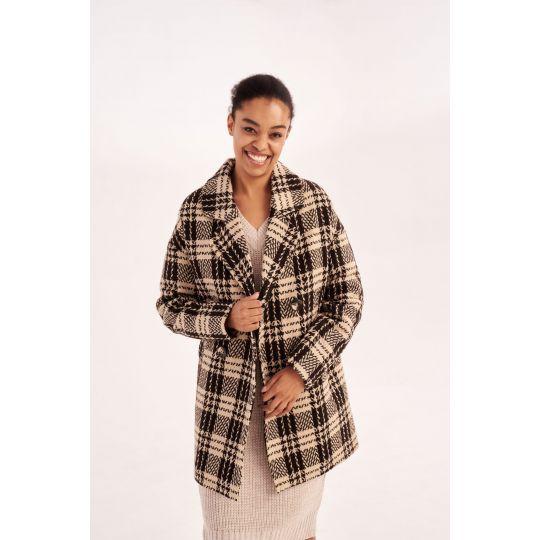 Пальто Минелия 5747 коричневое