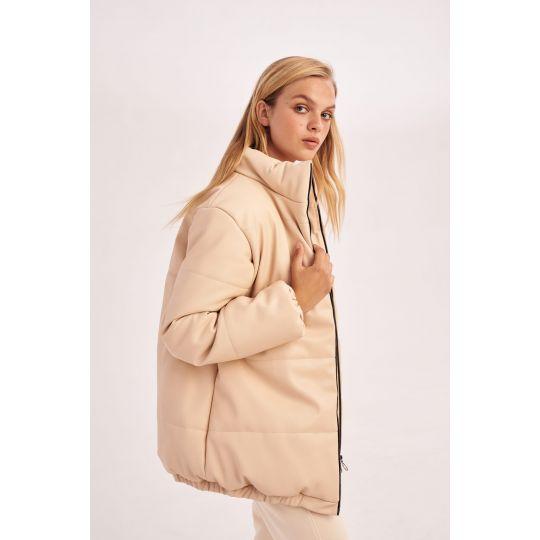 Куртка Юмма 5914 бежевая