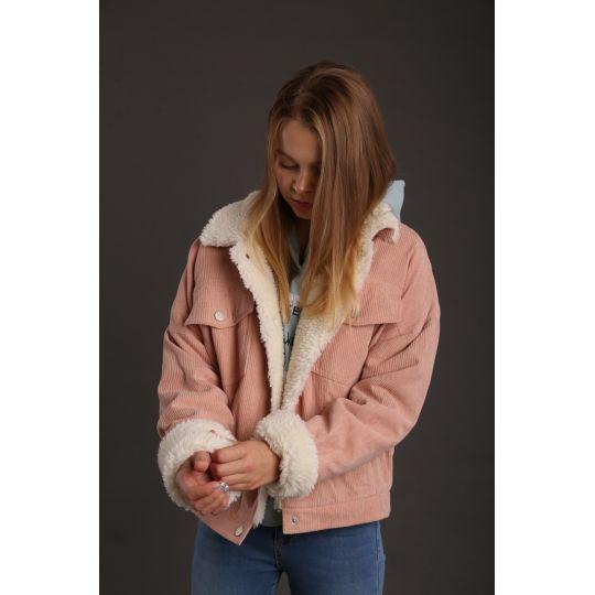 Куртка для девочки Холли пудра ТМ.CVETKOV