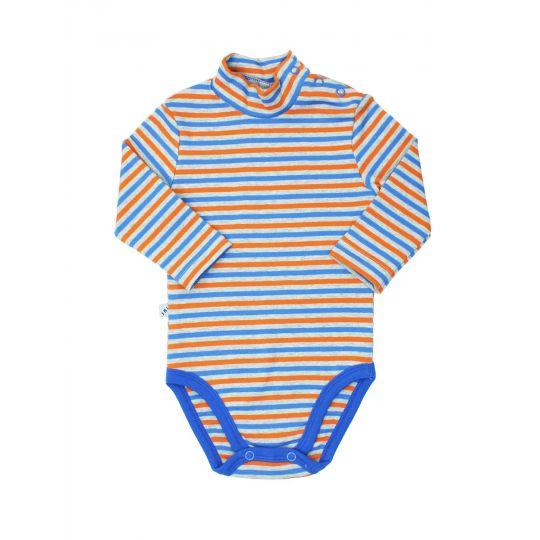 Боди-гольф 102670 оранжевая полоска