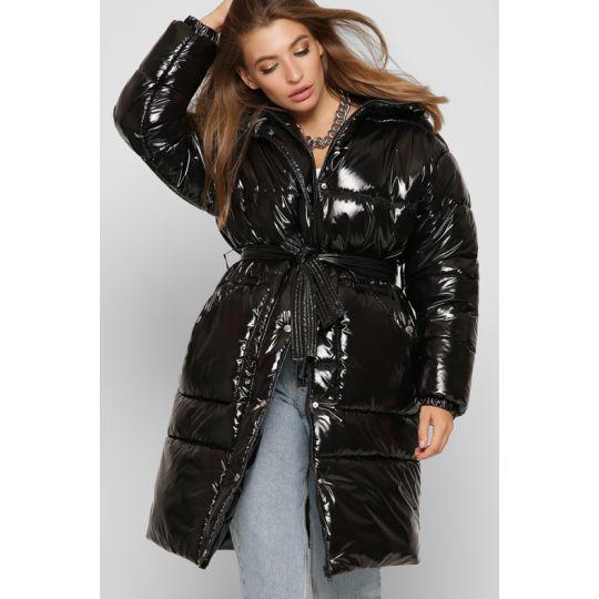 Зимняя куртка LS-8884-8 черная