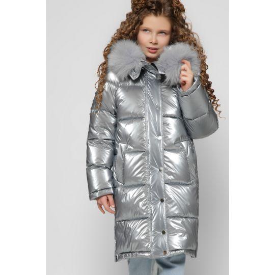 Куртка DT-8306-20 сильвер