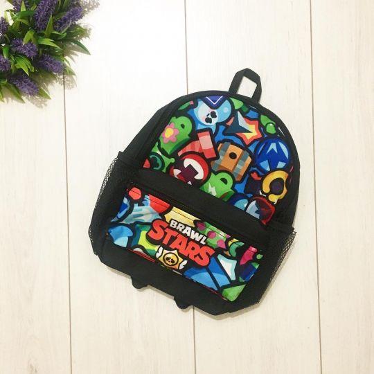 Рюкзак BrawlStars с карманом 1