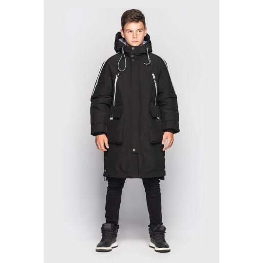 Куртка Илон зимняя черная