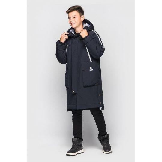 Куртка Илон зимняя синяя