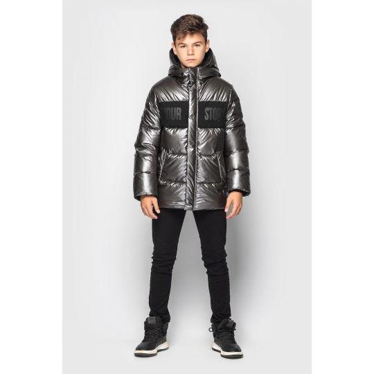 Куртка Эрнест серая
