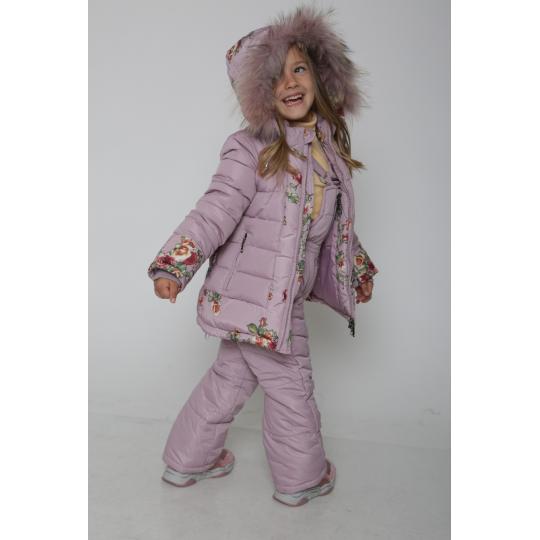 Комплект (куртка+штаны) 810 розовый