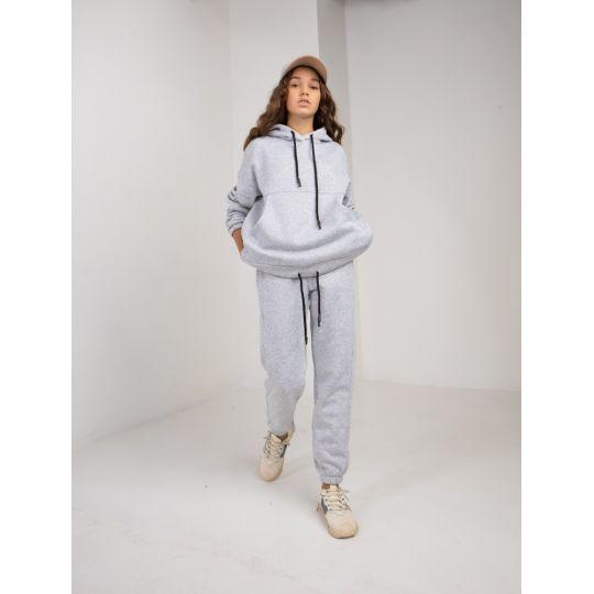 Спортивный костюм Найра байка 6083 серый меланж