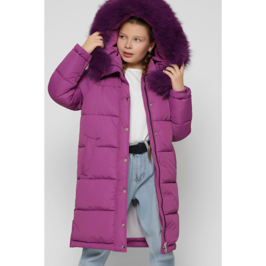 Куртка DT-8318-19 фиолетовая