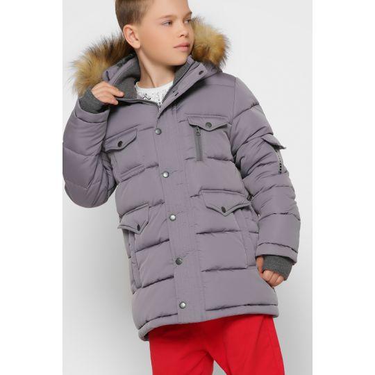 Куртка DT-8316-4 серая