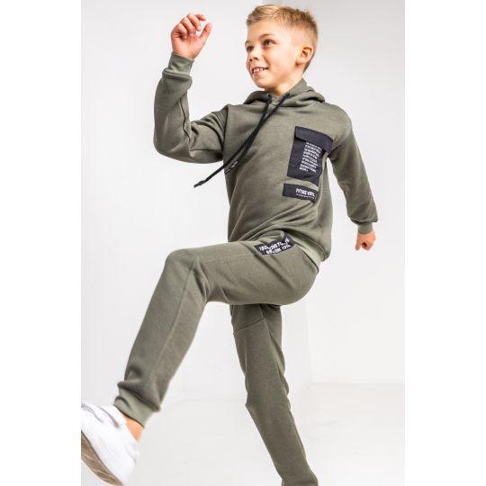 Спортивный костюм Арман 6193 байка оливковый