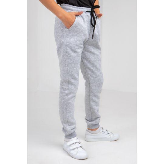 Спортивные штаны Колиас 6056 байка серый меланж