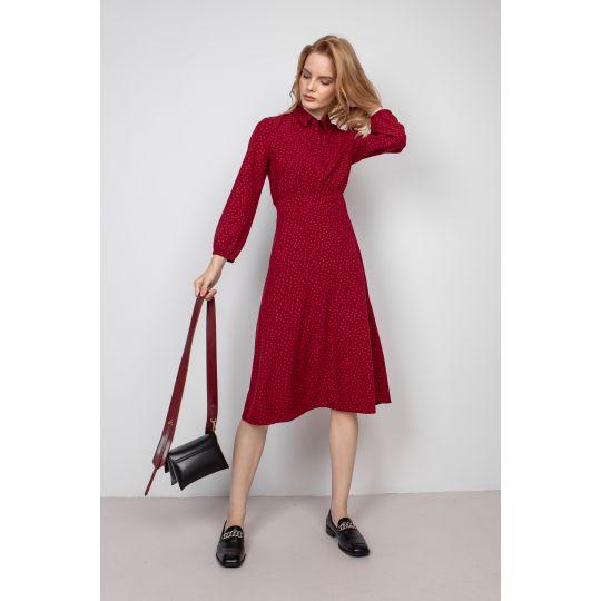 Платье Бриза 5942 красное