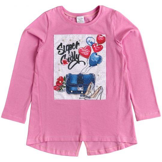 Туника для девочек 26179-16 розовая