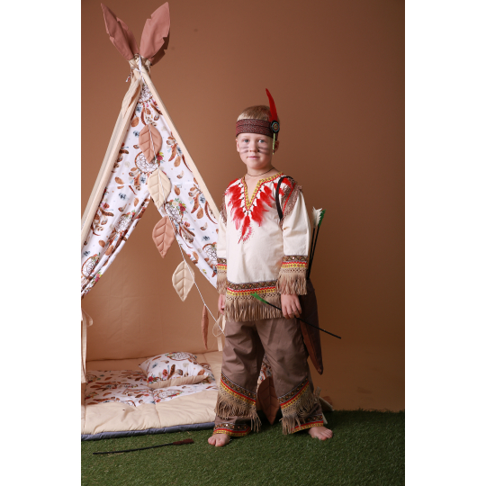 Карнавальный костюм Индеец №2 SONECHKO