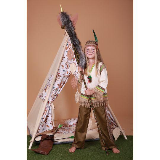 Карнавальный костюм девочка Индеец Индианка SONECHKO #1