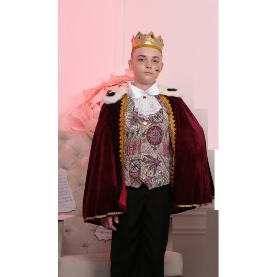 Карнавальный костюм Король с жабо