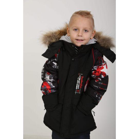 Куртка 7-667 черная