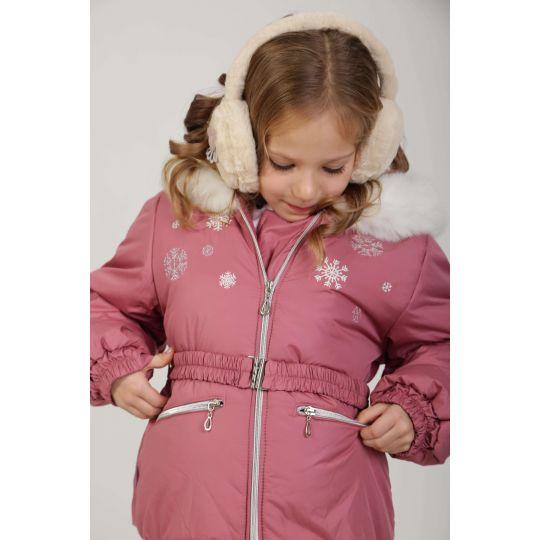 Куртка фрез 422 розовая